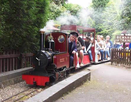 Superieur Brookside Miniature Railway
